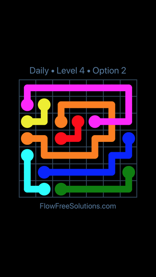 Solution and Answer to the Puzzle for Bridges Date Thursday, April 14, 2016 Level 4