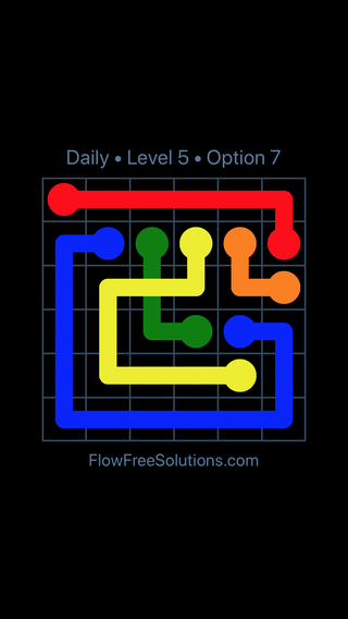 Solution and Answer to the Puzzle for Bridges Date Thursday, February 15, 2018 Level 5