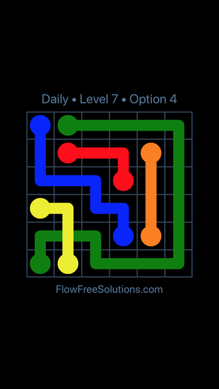 Solution and Answer to the Puzzle for Bridges Date Thursday, February 15, 2018 Level 7