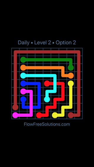 Solution and Answer to the Puzzle for Bridges Date Thursday, March 10, 2016 Level 2
