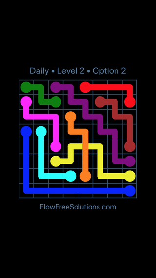 Solution and Answer to the Puzzle for Bridges Date Friday, July 8, 2016 Level 2