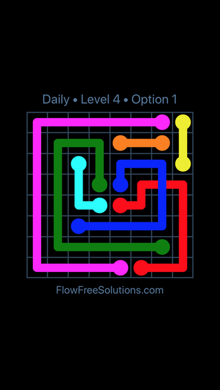 Solution and Answer to the Puzzle for Bridges Date Friday, April 15, 2016 Level 4