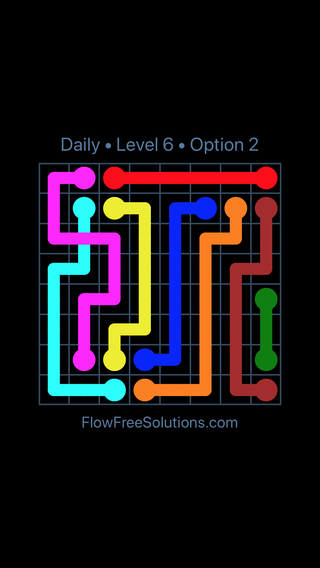 Solution and Answer to the Puzzle for Bridges Date Friday, July 8, 2016 Level 6