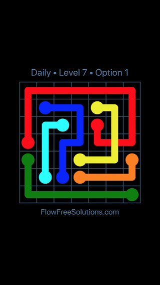 Solution and Answer to the Puzzle for Bridges Date Friday, July 8, 2016 Level 7