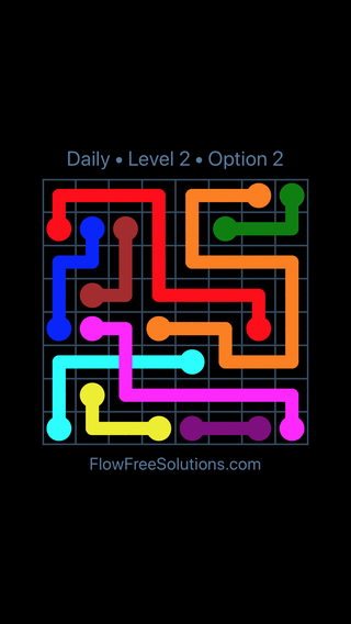 Solution and Answer to the Puzzle for Bridges Date Saturday, April 16, 2016 Level 2