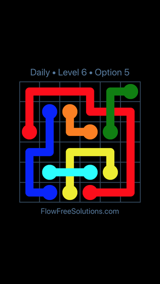 Solution and Answer to the Puzzle for Bridges Date Monday, April 18, 2016 Level 6