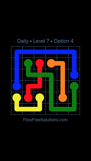 Solution and Answer to the Puzzle for Bridges Date Monday, April 18, 2016 Level 7