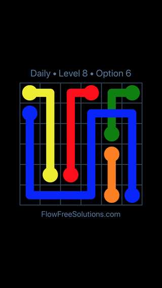 Solution and Answer to the Puzzle for Bridges Date Monday, April 18, 2016 Level 8