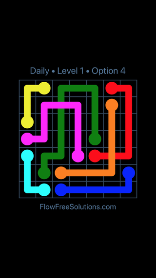 Solution and Answer to the Puzzle for Bridges Date Tuesday, August 7, 2018 Level 1