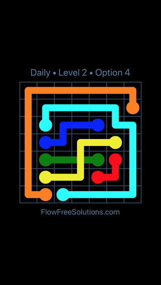 Solution and Answer to the Puzzle for Bridges Date Tuesday, April 19, 2016 Level 2