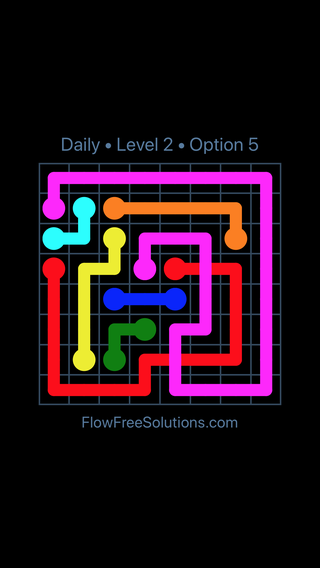 Solution and Answer to the Puzzle for Bridges Date Wednesday, August 8, 2018 Level 2