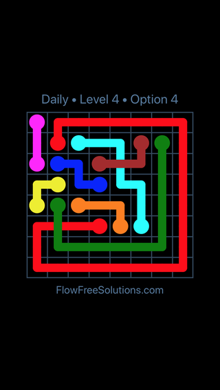 Solution and Answer to the Puzzle for Bridges Date Wednesday, August 8, 2018 Level 4