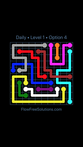 Solution and Answer to the Puzzle for Bridges Date Friday, August 10, 2018 Level 1