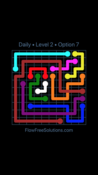 Solution and Answer to the Puzzle for Bridges Date Friday, May 18, 2018 Level 2