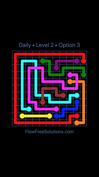 Solution and Answer to the Puzzle for Bridges Date Saturday, July 16, 2016 Level 2