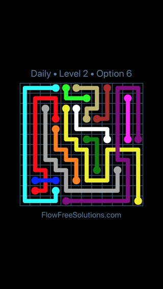 Solution and Answer to the Puzzle for Bridges Date Sunday, April 24, 2016 Level 2