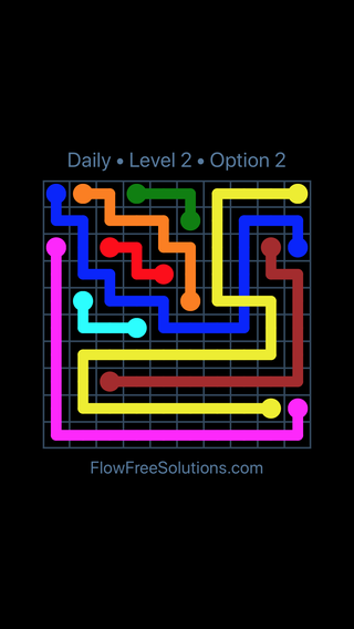 Solution and Answer to the Puzzle for Bridges Date Friday, June 3, 2016 Level 2