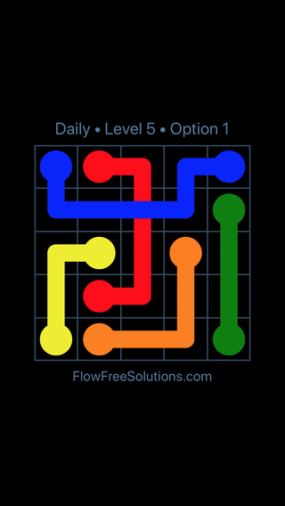 Solution and Answer to the Puzzle for Bridges Date Monday, July 18, 2016 Level 5