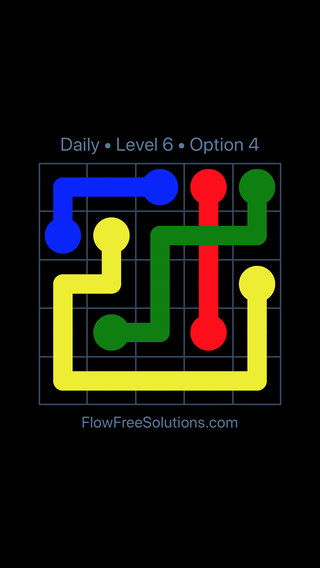 Solution and Answer to the Puzzle for Bridges Date Monday, April 25, 2016 Level 6