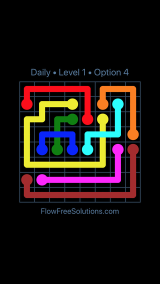 Solution and Answer to the Puzzle for Bridges Date Tuesday, July 19, 2016 Level 1