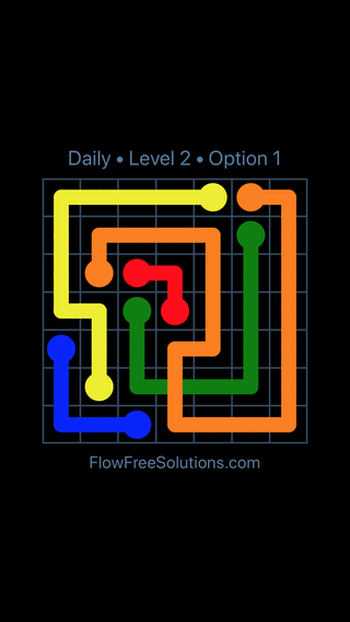 Solution and Answer to the Puzzle for Bridges Date Tuesday, April 26, 2016 Level 2