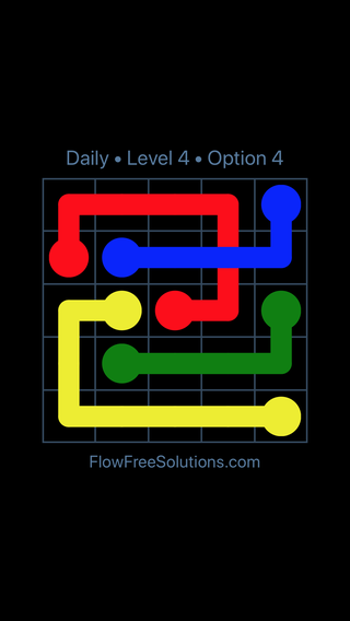 Solution and Answer to the Puzzle for Bridges Date Tuesday, April 26, 2016 Level 4