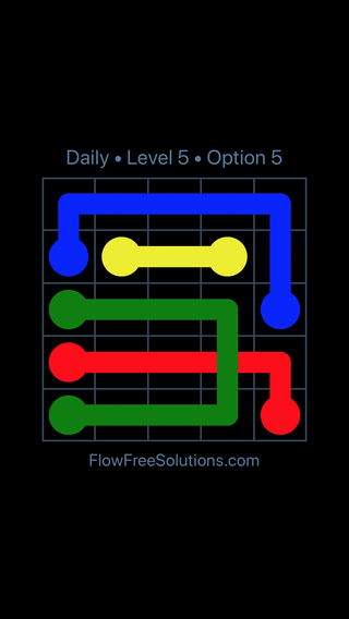 Solution and Answer to the Puzzle for Bridges Date Tuesday, April 26, 2016 Level 5