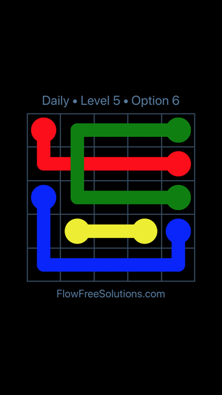 Solution and Answer to the Puzzle for Bridges Date Tuesday, November 6, 2018 Level 5