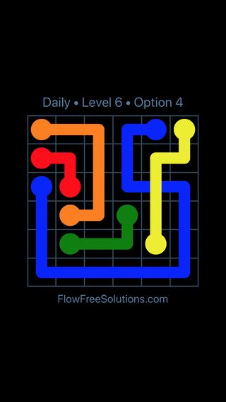 Solution and Answer to the Puzzle for Bridges Date Tuesday, July 19, 2016 Level 6