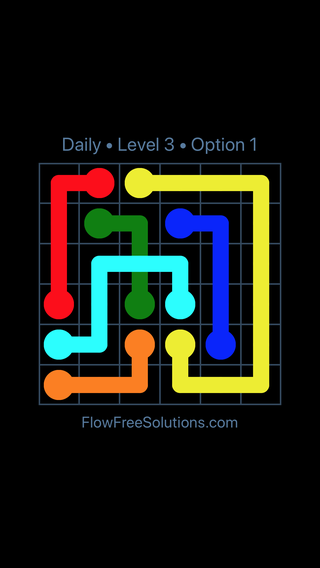 Solution and Answer to the Puzzle for Bridges Date Wednesday, April 27, 2016 Level 3