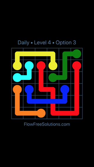Solution and Answer to the Puzzle for Bridges Date Wednesday, July 20, 2016 Level 4