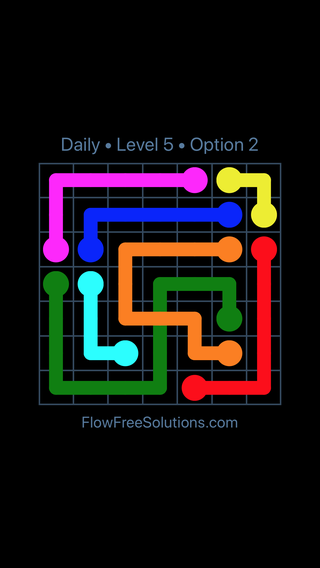 Solution and Answer to the Puzzle for Bridges Date Wednesday, July 20, 2016 Level 5