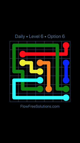 Solution and Answer to the Puzzle for Bridges Date Wednesday, November 7, 2018 Level 6