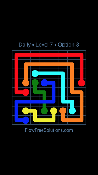 Solution and Answer to the Puzzle for Bridges Date Wednesday, April 27, 2016 Level 7