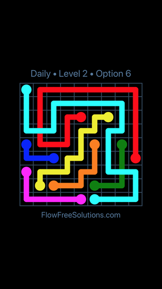 Solution and Answer to the Puzzle for Bridges Date Saturday, November 10, 2018 Level 2