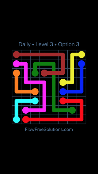 Solution and Answer to the Puzzle for Bridges Date Sunday, July 24, 2016 Level 3