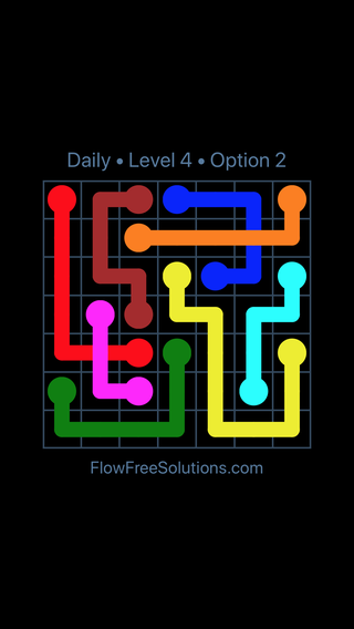Solution and Answer to the Puzzle for Bridges Date Sunday, July 24, 2016 Level 4