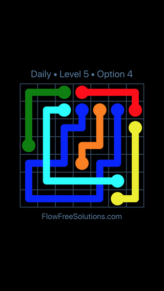 Solution and Answer to the Puzzle for Bridges Date Monday, May 2, 2016 Level 5