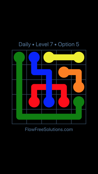 Solution and Answer to the Puzzle for Bridges Date Monday, May 2, 2016 Level 7