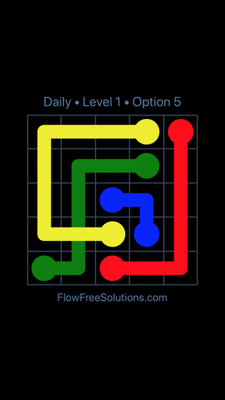 Solution and Answer to the Puzzle for Bridges Date Tuesday, May 3, 2016 Level 1