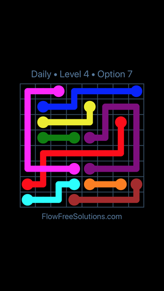 Solution and Answer to the Puzzle for Bridges Date Wednesday, July 27, 2016 Level 4
