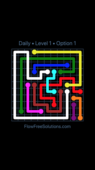 Solution and Answer to the Puzzle for Bridges Date Saturday, June 4, 2016 Level 1