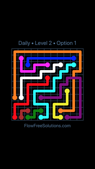 Solution and Answer to the Puzzle for Bridges Date Saturday, January 13, 2018 Level 2