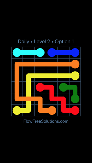 Solution and Answer to the Puzzle for Bridges Date Thursday, May 5, 2016 Level 2
