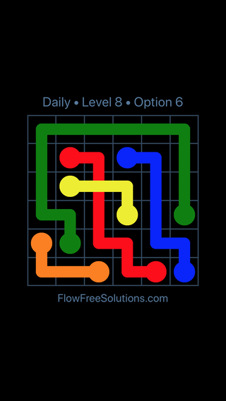 Solution and Answer to the Puzzle for Bridges Date Thursday, May 5, 2016 Level 8