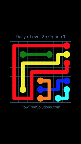 Solution and Answer to the Puzzle for Bridges Date Monday, May 9, 2016 Level 2