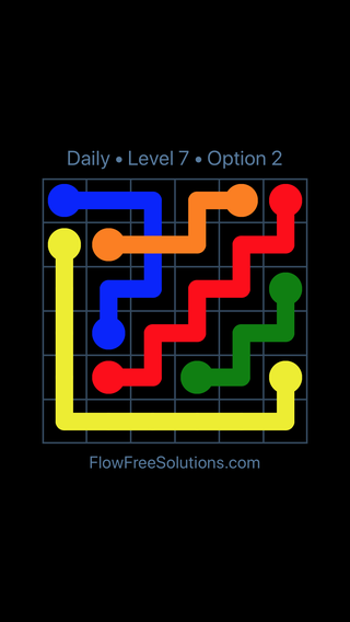 Solution and Answer to the Puzzle for Bridges Date Monday, August 1, 2016 Level 7