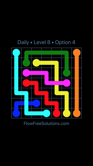Solution and Answer to the Puzzle for Bridges Date Monday, August 1, 2016 Level 8