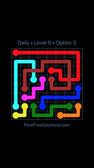 Solution and Answer to the Puzzle for Bridges Date Monday, August 1, 2016 Level 9