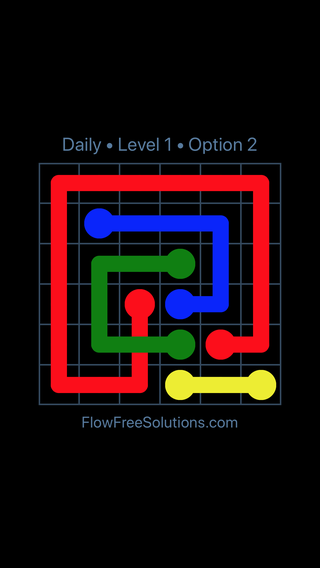 Solution and Answer to the Puzzle for Bridges Date Tuesday, August 2, 2016 Level 1